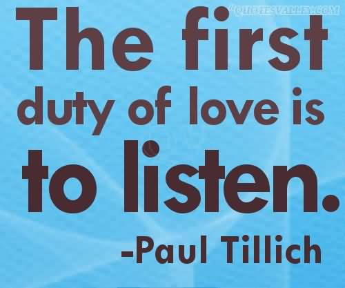 Love Listens