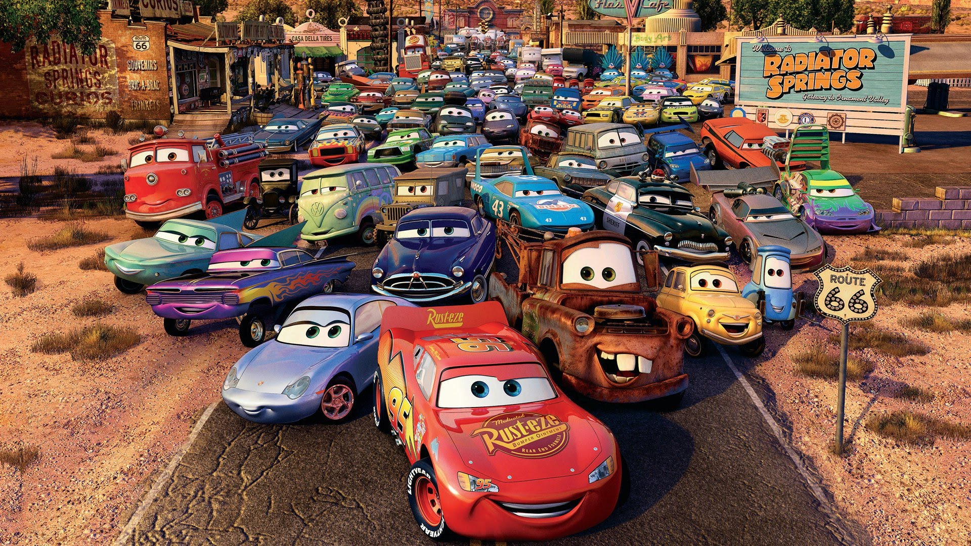 Movie Night - Cars