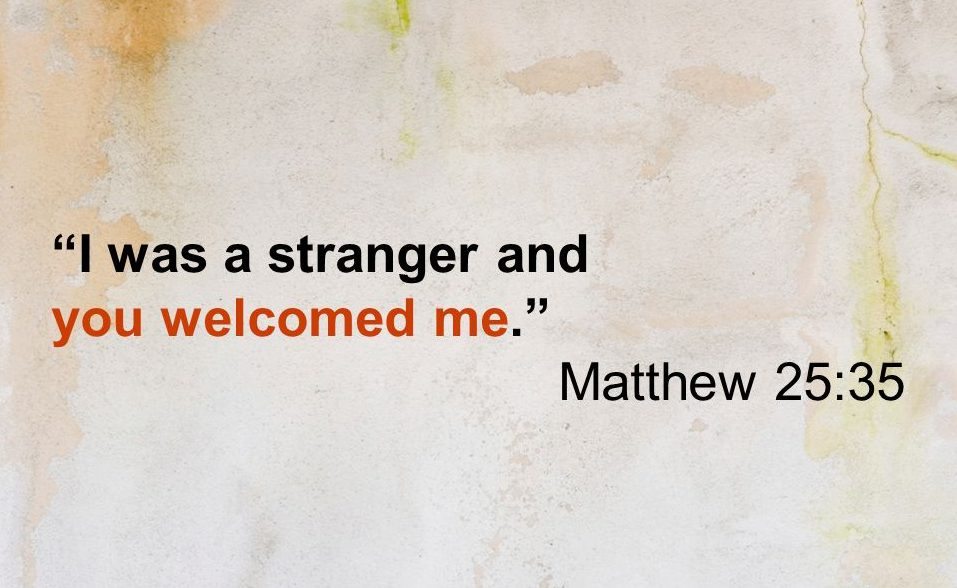 God Welcomes Everyone . . . And So Do We