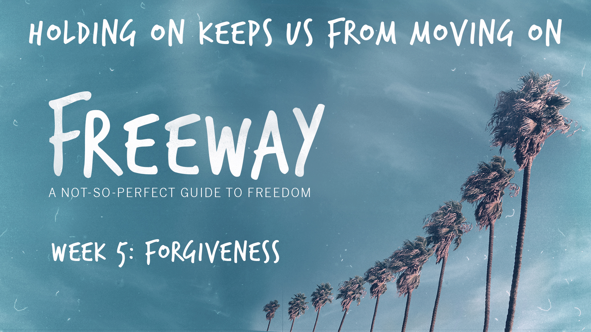 Forgiveness - Holding On Keeps Us From Moving On