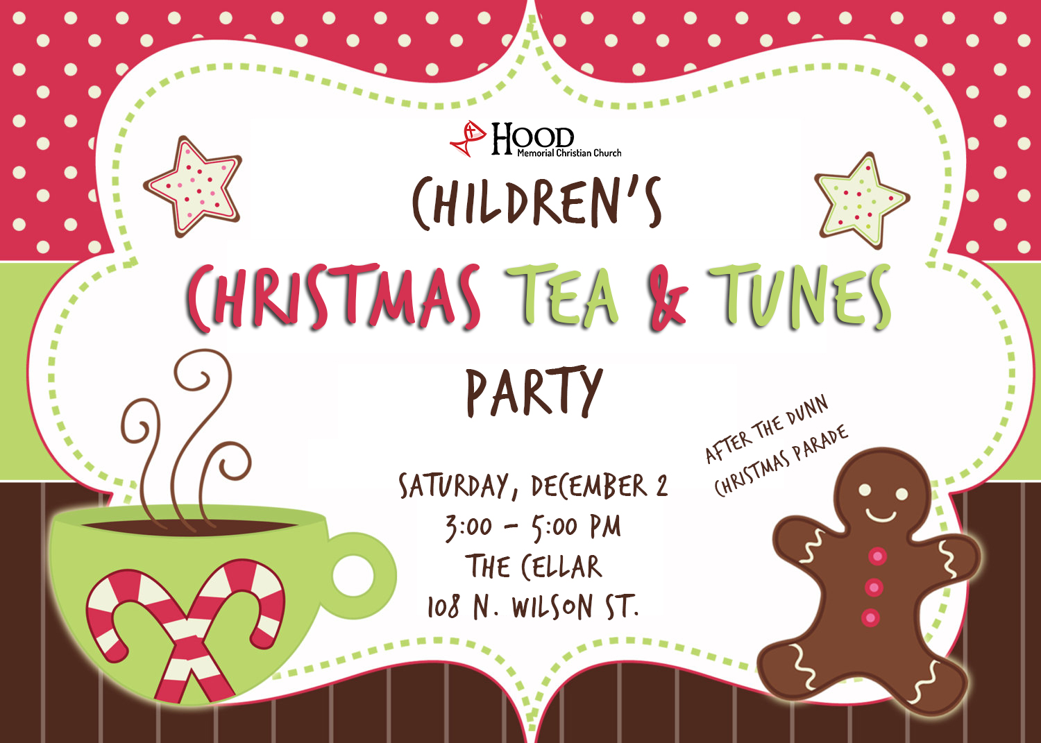 Children's Christmas Tea & Tunes Party