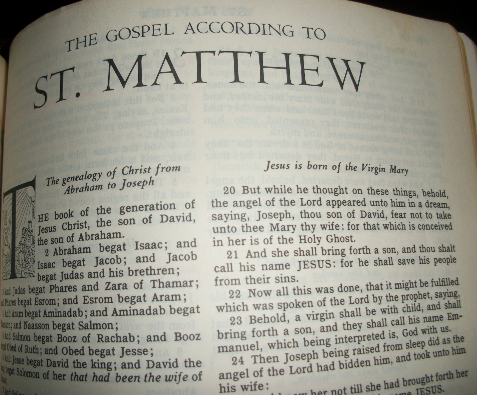 Matthew: Jesus Fulfills