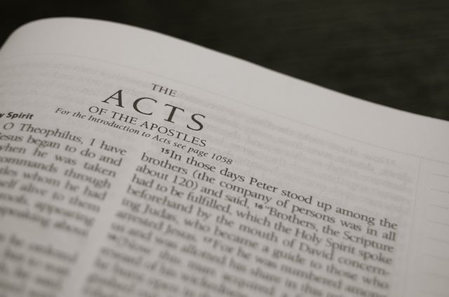 The Stories in Acts