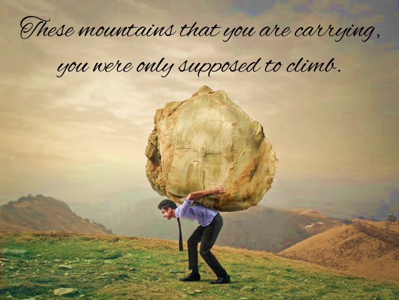 Mountains We Have Climbed - Carry or Climb?