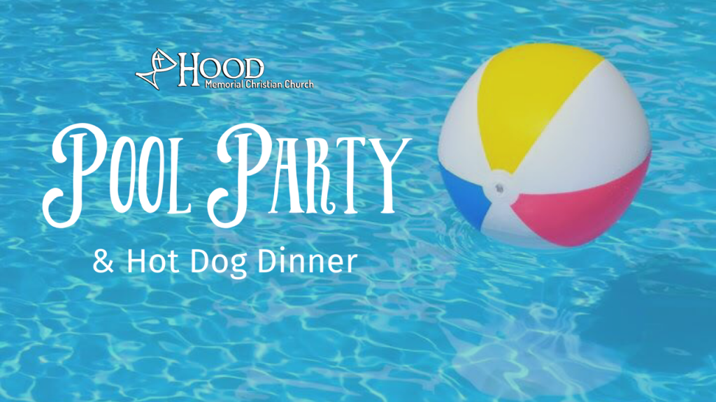 End of Summer Back to School Pool Party